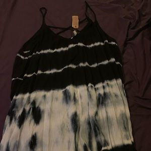 American eagle tye die swing dress XL